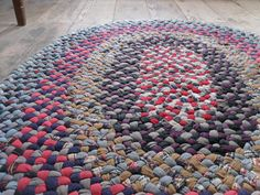 vintage braided rugs - Google Search