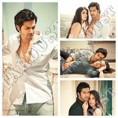 awesome Nargis Fakhri & Varun Dhawan Sensual Photoshoot For Stardust April Edition 2014