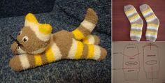 DIY Cute Sock Kitten - Home Design - Google+
