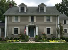 Benjamin Moore Revere Pewter | Exterior Paint/Siding Colors ...