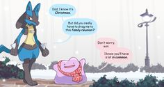 finalsmashcomic:  A Very Ditto ChristmasAnd you thought...