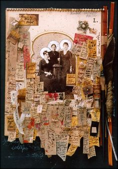 ⌼ Artistic Assemblages ⌼ Mixed Media & Collage Art - Ron Pippin