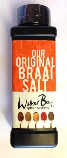 Walker Bay Spice Original #Braai Salt 400g We have a wonderful new braai salt available, as a great alternative to Marina Braai Salt!     Let's spice things up!     Walker Bay Spice #Braai Salt is the perfect spice for braais and bbq. It tastes great on everything! Being so versatile makes it an all-rounder favourite seasoning in the kitchen. #Satooz #SouthAfrica #SouthAfrican #BBQ