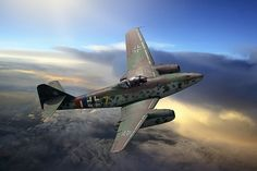 The first jet fighter, the Me262 (c) by Ron Cole