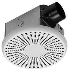 It's an exhaust fan for your bathroom AND a Bluetooth speaker.  What's not to love about tunes in your bathroom.