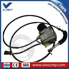 short line speed gas accelerator for excavator R220-5 R225-5