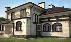 Private facade design and renovation Style At Home, Refuge, Cottage, Facade Design, House Roof, Plein Air, Future House, Villa, Cabin