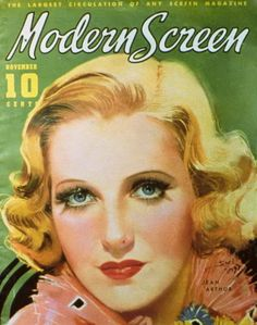 Modern Screen - Jean Arthur