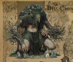 ArtStation - The Bell Crow , Timofey Stepanov