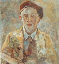 Adriaan de la Rivière1857-1941, zelfportret.