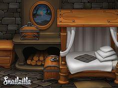 Dribbble - Game art - quest by SnailZilla   Dmitry