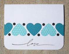 Anniversary in Blue by peebsmama - Cards and Paper Crafts at Splitcoaststampers