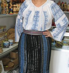 Costume populare muntenesti Waist Skirt, High Waisted Skirt, Costume, Skirts, Fashion, Moda, High Waist Skirt, Fashion Styles, Skirt