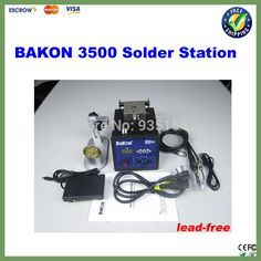 BAKON BK3500 Auto feeding 120W Lead-Free soldering station eddy current heating welding machine
