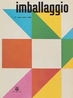 Max Huber - 1952 - Influencé par la production de Max Bill et celle du groupe Allianz (Art Concret/Zurich), il adhère à une certaine rigueur et un certain miimalisme issus du Bauhaus