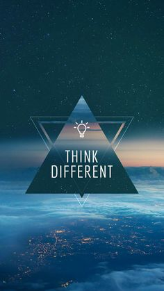 Think different, shop different, and live different. Positive Wallpapers, Inspirational Quotes Wallpapers, Motivational Quotes Wallpaper, Cute Wallpapers, Words Wallpaper, Wallpaper Quotes, Goal Quotes, Success Quotes, Quote Backgrounds