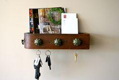 mail sorter and key rack vintage sewing drawer by LegalMissSunshine, $62.00