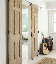 2 salvaged $10 doors repurposed
