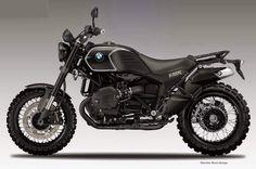 BMW R1200 Black Sabbath by Oberdan Bezzi