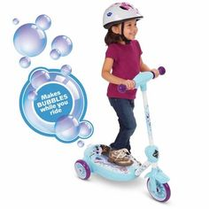 Kids Toddler 6V Battery Powered Electric Ride On 3 Wheel Scooter,Paw Patrol Bubble Tanks, 3 Wheel Scooter, Love No More, 3rd Wheel, Face Light, Child Face, Electric Scooter, Paw Patrol, Disney Frozen