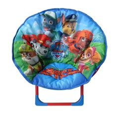 Give your little one a seat that is unmistakably theirs with this fun, colourful and comfortable Paw Patrol Chair. Its sturdy yet lightweight fold-out frame ensures it is not only the perfect addition to your child's room, but also great for taking along on camping trips or other outdoor adventures!