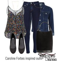 Caroline Forbes inspired outfit/TVD