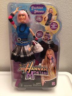 Barbie Size Hannah Montana Fashion Moves Collection Dancing Doll:Lola