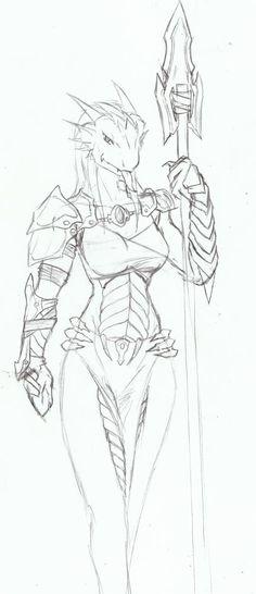 sexy-dragonborn.jpg (432×1000)