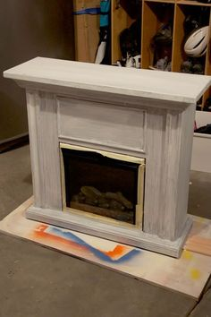 How To Transform A Store Bought Electric Fireplace Into A Striking
