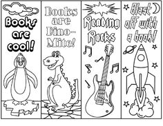 Free Printable Bookmarks to color and personlize! | Bookmarks ...