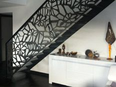 Laser cut screen balustrade infill