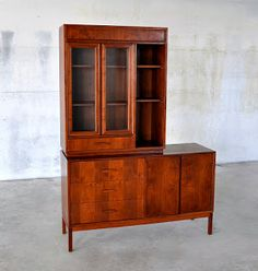 SELECTMid-Century Modern Design Finds: Mid Century Modern Credenza, Hutch, Sideboard, Server, China Cabinet