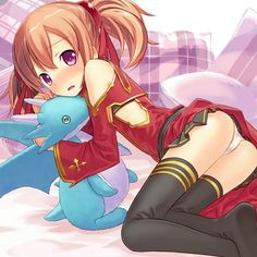 Silica (シリカ, Shirika?) is one of the 10,000 players who were trapped in «Sword Art Online». She's a dagger-wielding Beast Tamer when she first appears in The Black Swordsman hunting in the Forest of Wandering. Her real name is Ayano Keiko (綾野珪子, Ayano Keiko?).