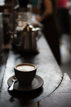 lovelustfashionbeautyromance:   cappuccino | four barrel coffee | sf Nikon Df | Nikkor 50mm f/1.2