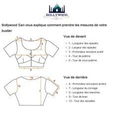 """Résultat de recherche d'images pour """"prendre des mesures pour un blouse indien"""""""