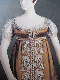 """Mon Armoire Magique: Princess Charlotte's """"Pearl Dress"""", 1817"""