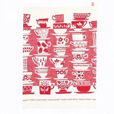 Skinny laMinx Tea Towel Geschirrtuch TEA Rosebud