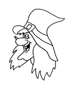 Halloween Coloring Page - Print Halloween pictures to color at… Halloween Wood Crafts, Vintage Halloween, Halloween Diy, Halloween Decorations, Halloween Templates, Halloween Clipart, Halloween Prints, Halloween Coloring Pictures, Halloween Coloring Pages
