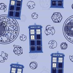 Dr. Who fabric!