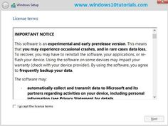 How to Install Windows 10 Developer Preview