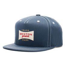 Brixton #Casquette #Snapback #Ramsey Bleue