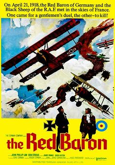 The Red Baron - 1971 - Movie Poster