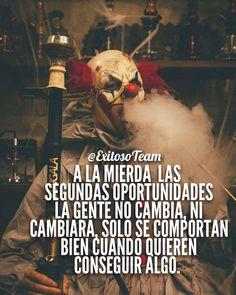 Words Of Wisdom Quotes, True Quotes, Qoutes, Gangster Love Quotes, Joker Frases, Rock Argentino, Dark Art Illustrations, Monroe Quotes, Pablo Escobar