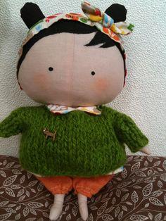 Tilda sweetheart doll:))