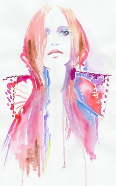 Want to make a career in fashion illustration? Learn how to from someone who has worked for everyone from Givenchy to Tatler? More details here: https://www.mastered.com/course-listings/8