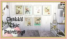 Shabby Chic Paintings