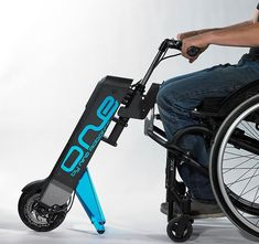 Nino One wheelchair power attachment