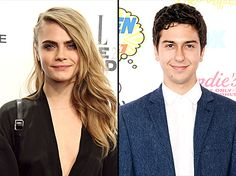 British model Cara Delevingne was cast to star alongside Nat Wolff in John Green's new film adaptation for Paper Towns.