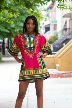 Dashiki African Dress Shirt