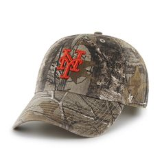 new style 1fc1e cc5d3 New York Mets Realtree Clean Up Realtree 47 Brand Adjustable Hat